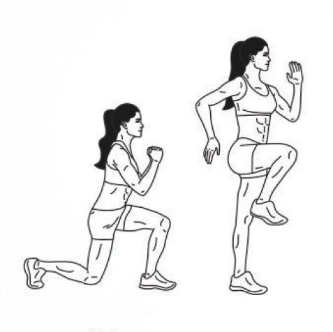 Ultimate 28-Day Fitness (Full-body Split)
