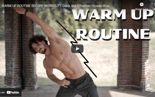 Warm-up for Men